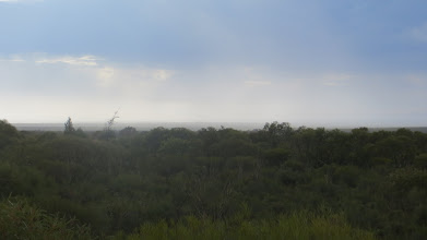 Photo: Rain clearing