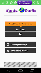 Border Traffic App- screenshot thumbnail