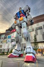 Photo: The massive Gundam statue in Odaiba, Japan