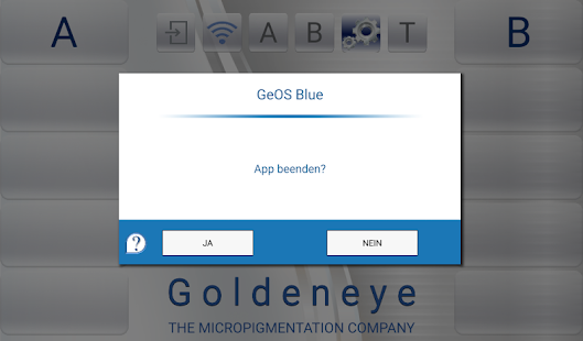 GeOS blue- screenshot thumbnail
