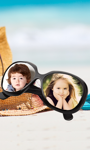 Goggles Dual Photo Frame