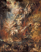 Photo: Peter Paul Rubens, The Fall of the Damned, 1620-21