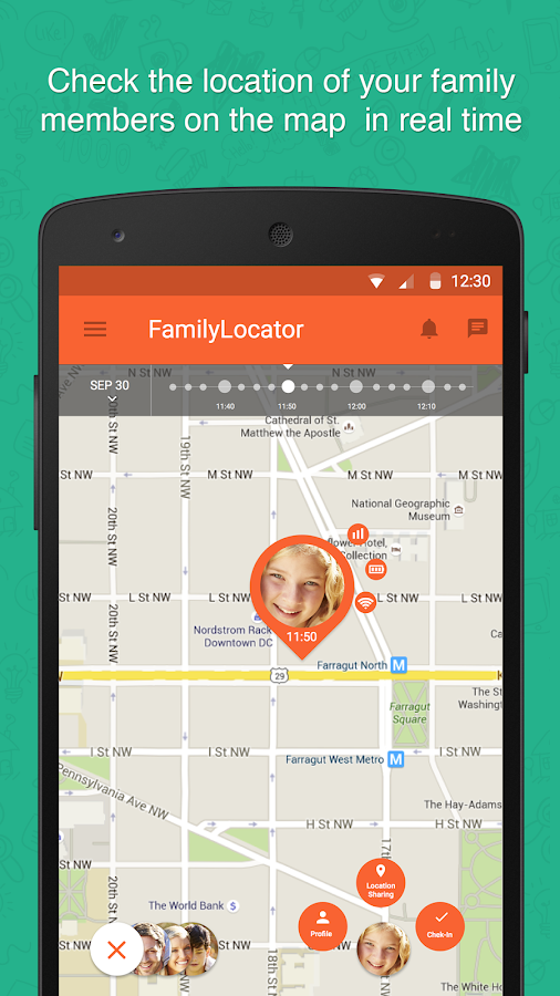 family locator gps tracker android apps on google play. Black Bedroom Furniture Sets. Home Design Ideas