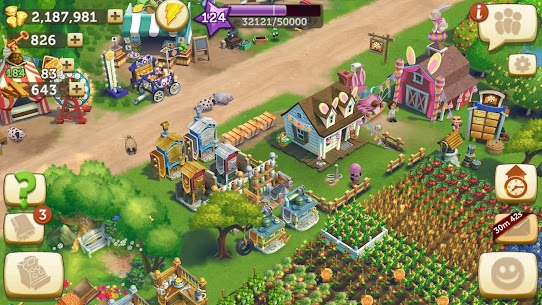 FarmVille 2 Country Escape Mod Apk 16.5.6377 (Free Shopping + Gems) 6