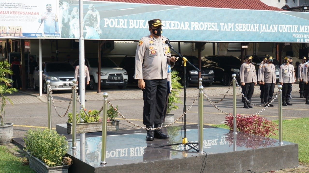 Peringatan Mayday:Inilah Isi Pesan Kapolda Yang Dibacakan Kapolresta Mojokerto