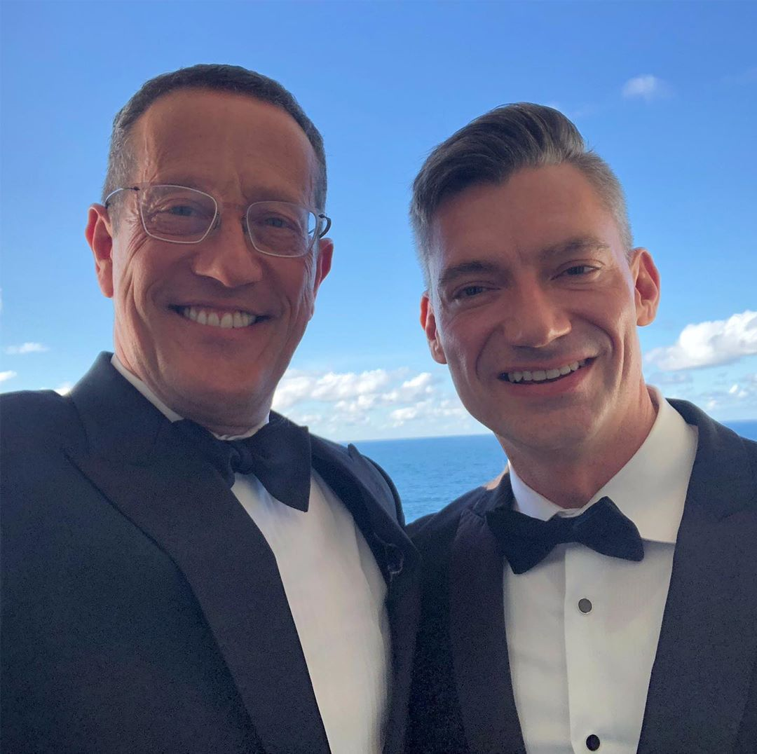 CNN's Richard Quest proposes to his gay lover