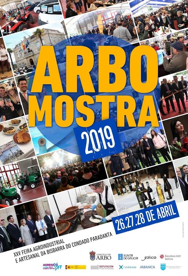 Arbo Mostra, cartel anunciador de la feria 2019