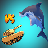 Tank vs. Hungry Shark