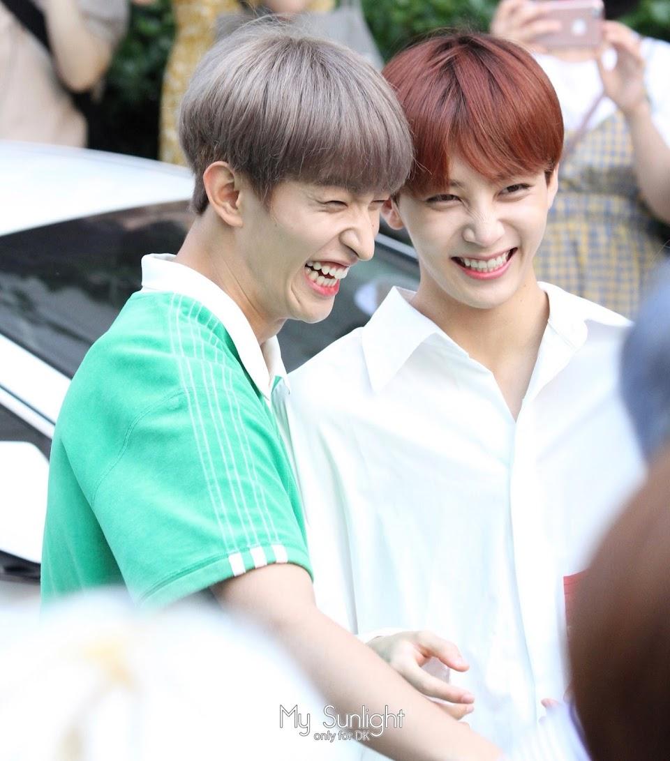 seventeen jeonghan dk dokyeom laugh