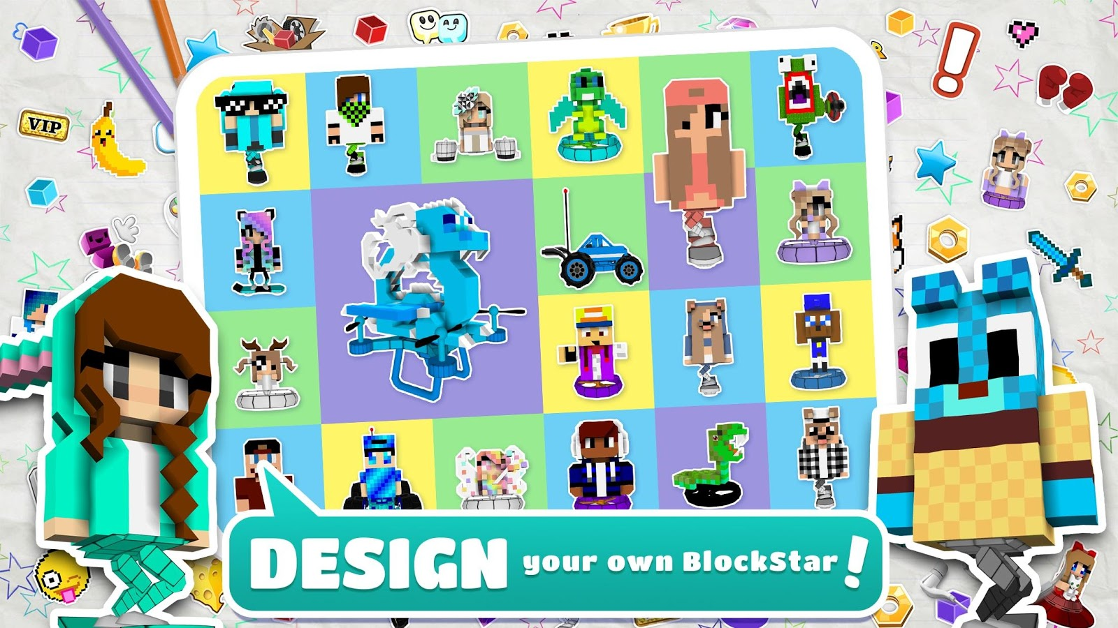 Character Design Apps For Android : Blockstarplanet android apps on google play