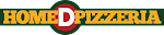 Logo for Home D Pizzeria