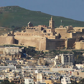 the Citadel,Rabat/Victuria. Gozo. by Ivor Evans - Buildings & Architecture Public & Historical ( mediterranean, historic, defense, island, architecture )