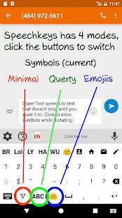 Speechkeys Smart Voice Typing Screenshot