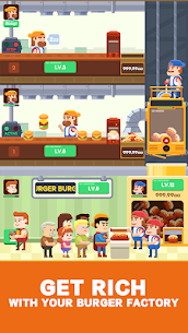 Idle Burger Factory 2