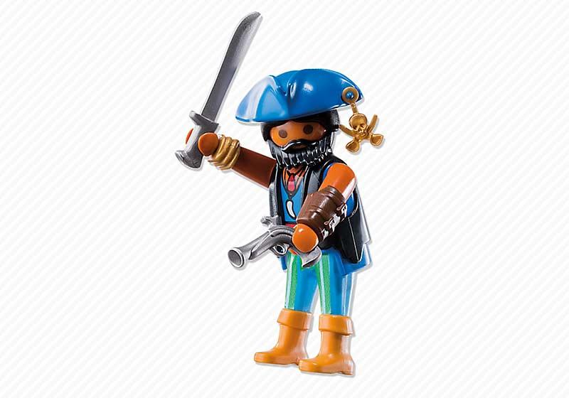 Contenido real de Playmobil® 6822 Pirata