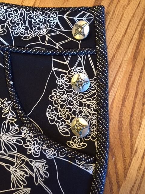 Dixie DIY Shorts!  Finishing Details