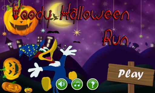 woody halloween run