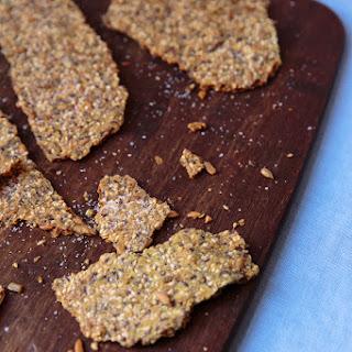 Knäckebröd med Frön (Seeded Crispbread)