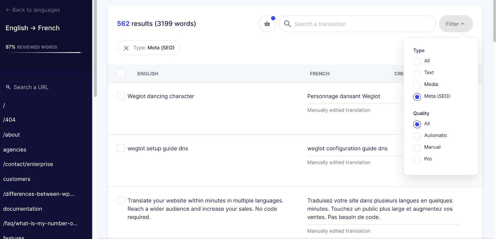 seo metadata wix translate