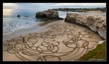 """Photo: """"Bubbles II', Natural Bridges, Santa Cruz, CA.. We got to the beach mere moments after a patriol car drove through!!"""