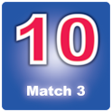 Just Match 3 Just Get 10 icon