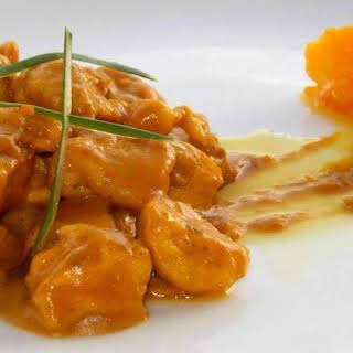 Exotic Chicken with Caramelized Oranges.