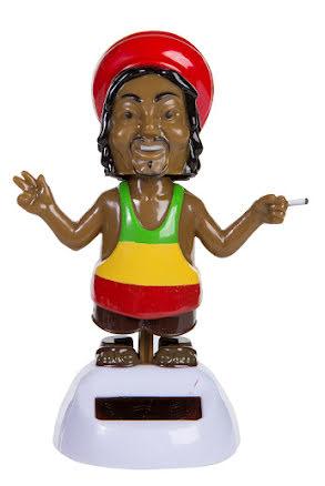 Rörlig figur, Reggae med solcell