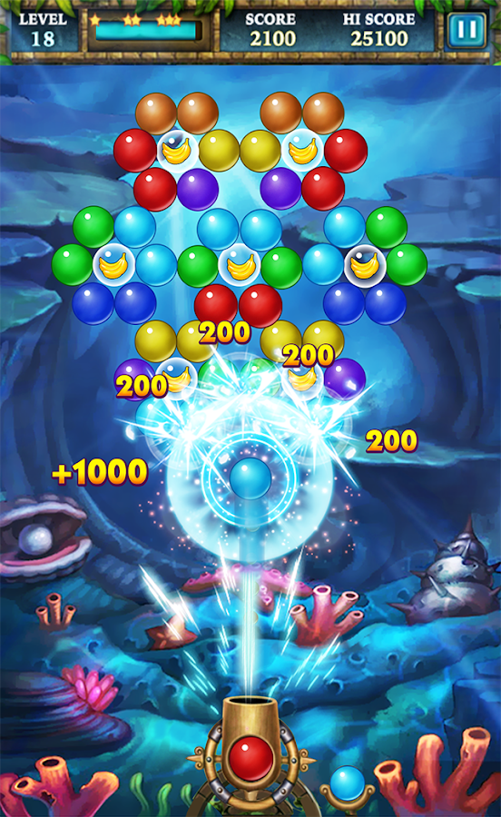 Screenshots of Bubble Worlds for iPhone