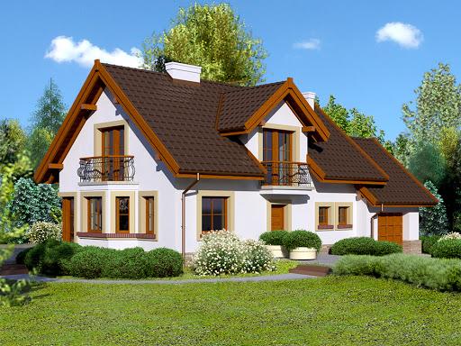 projekt Dom przy Modrzewiowej 11