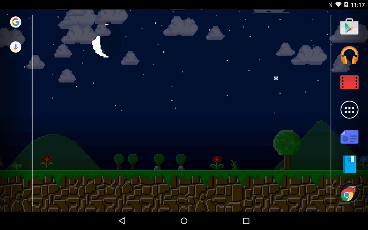 8-Bit Scrolling Wallpaper - Android Apps on Google Play