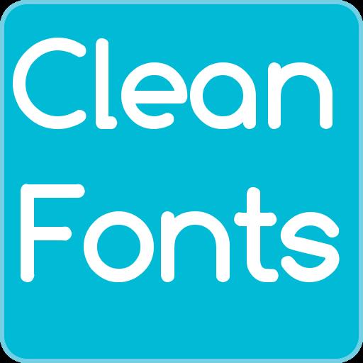 Clean Fonts for FlipFont