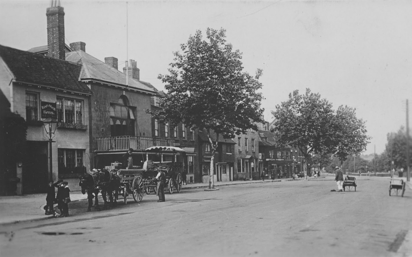 Tenterden High Street - Woolpack and Town Hall Archive Photos