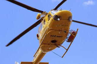 Photo: Detalle helicóptero 112 Región de Murcia en su intervención en Cehegín