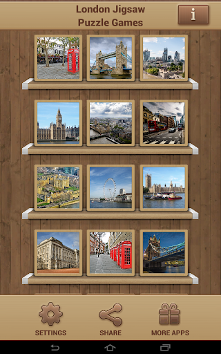 London Jigsaw Puzzle Games screenshots 9