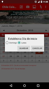 Chile Calendario 2015 - screenshot thumbnail