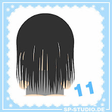 Photo: www.sp-studio.de Christmas Special, day 11: long hair in front of the face