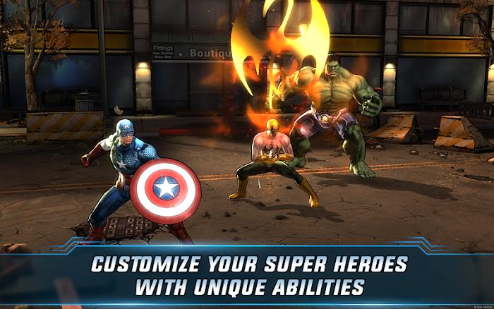 Marvel: Avengers Alliance 2 imagem de tela