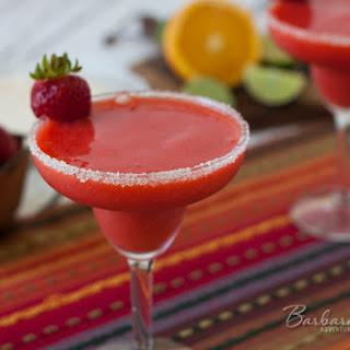 Frozen Virgin Strawberry Margarita