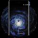Download earth universe dark space nebula  lock theme For PC Windows and Mac
