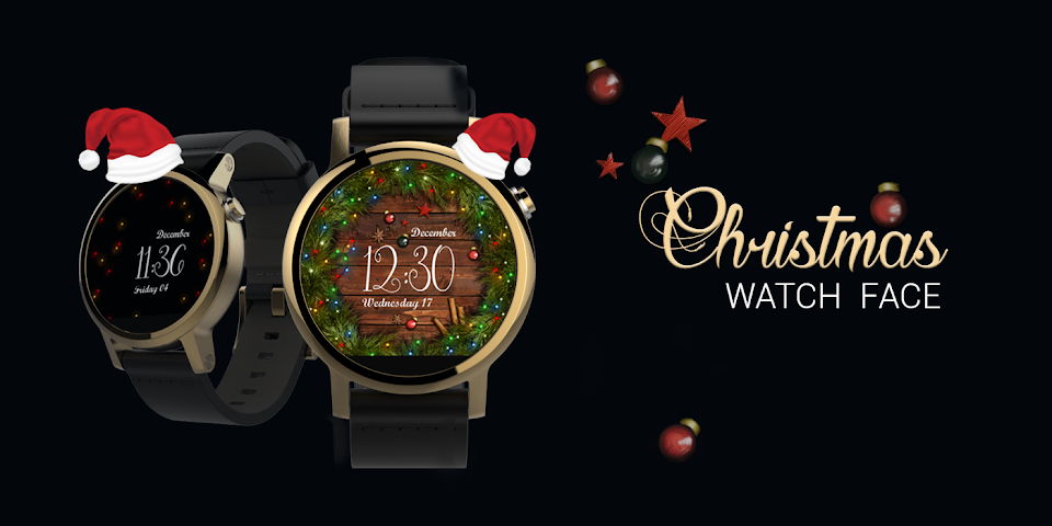 android Watch Face: Christmas Screenshot 3