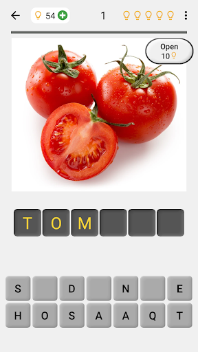 Fruit and Vegetables, Nuts & Berries: Picture-Quiz 3.0.0 screenshots 1