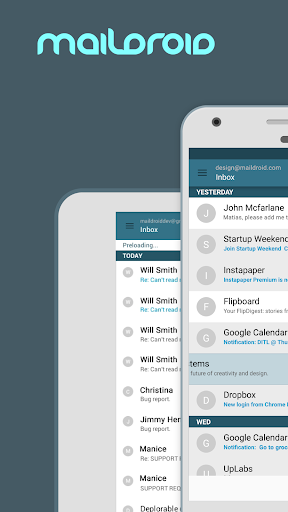 MailDroid screenshot 1