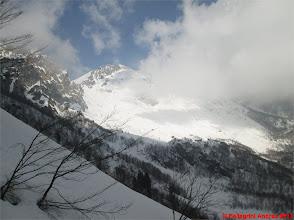Photo: IMG_2283 le nuvole avvolgono i monti come d estate