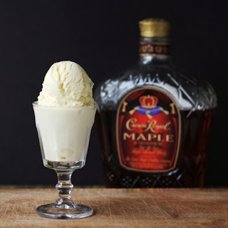 Maple Whisky Ice Cream.