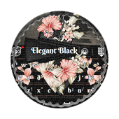 Elegant Black GO Keyboard