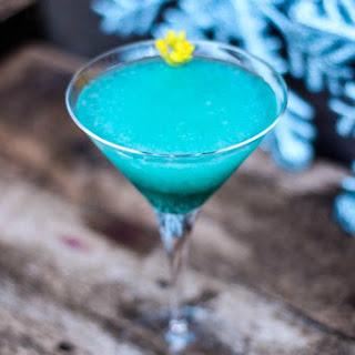 The Frozen Mint Blue Cocktail