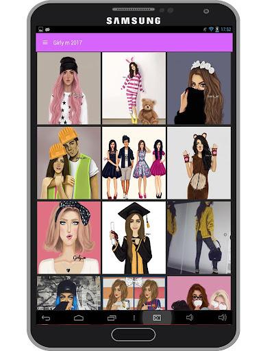 Girly m Wallpaper 2017 1.4 screenshots 3