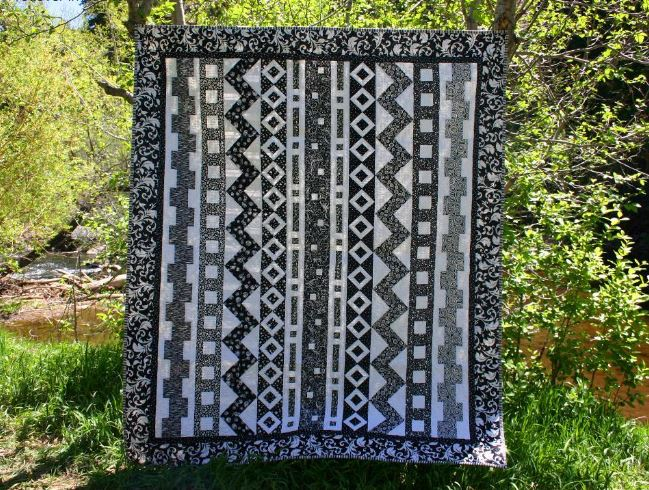 Rows-o-Rama Quilt: Craftsy Member Pattern