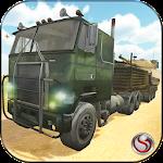 Army War Truck Transport Icon