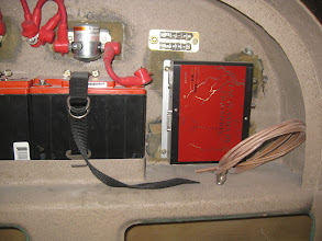 Photo: Lightspeed ignition module affixed to firewall.